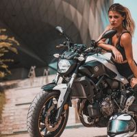Photoshoot of the Week: June 15th-21st 2020 - Emilia Dobrev & Yamaha MT-07