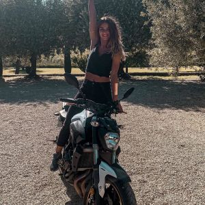 Emilia Dobrev & Yamaha MT-07 on Ridin\'GirlsBlog
