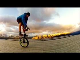 Bike Shorts Unicycling Film
