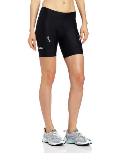 Zoot Sports Women's Active Tri 8-Inch Shorts,Black,Small