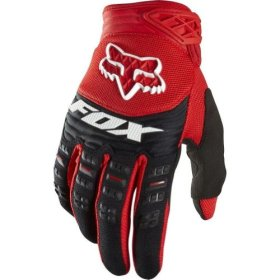 2014 Fox Dirtpaw Race Motocross Gloves – Red – 2X-Large (12)