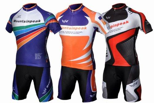 Muti-color Cycling Team Bike Bicycle Cycling Wear Mountain Short Shirt Jersey+ Shorts Suit Sets