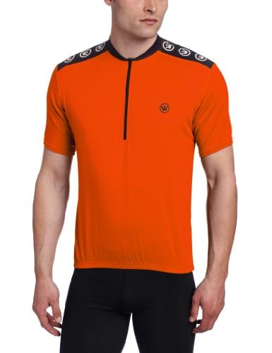 Canari Cyclewear Men's Core Jersey, Lava, Large