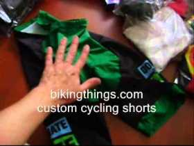 custom green cycling shorts, amazing any color cycling gear pants