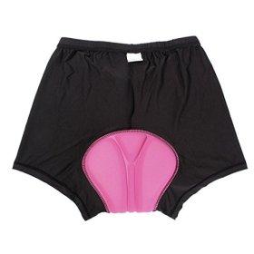 Uniquebella Unisex Cycling Underwear Gel 3D Padded Coolmax Bicycle Underpants Shorts #3 XXXL