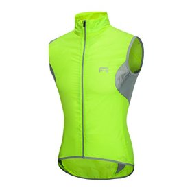 Riposte Mens Breathable Sleevless Jersey Cycling Vest-Full-Zip