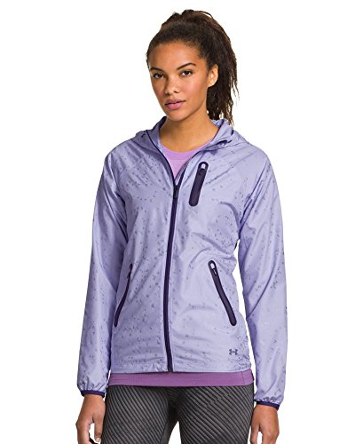 Under Armour Women's UA Qualifier Woven Jacket Large LAVENDER ICE