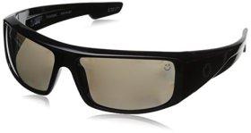 Spy Optics Logan Wrap Polarized Sunglasses,Black,60 mm