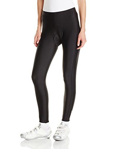 Canari Cyclewear Women's Gel Cycle Tights, Black, X-Large
