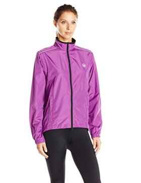 Canari Women's Tour Convertible Jacket, Imperial Purple, X-Large