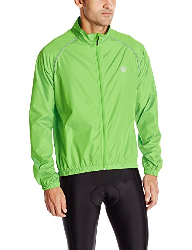 Canari Men's Microlyte Shell Jacket, Exto Green, X-Large