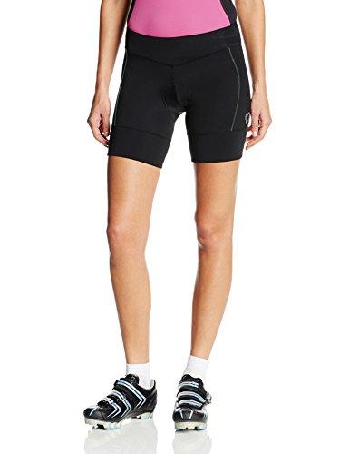 Pearl Izumi – Ride Women's Ultra Star Shorts, Black/Gumdrop, Large