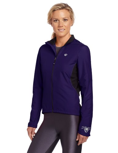 Pearl Izumi Women's Select Thermal Barrier Jacket, Small, Blackberry