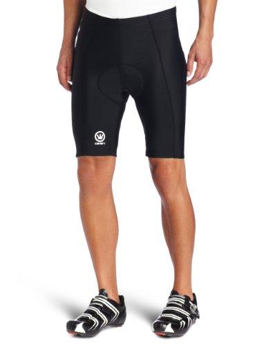 Canari Cyclewear Men's Velo Gel Padded Bike Short (Black, Large)