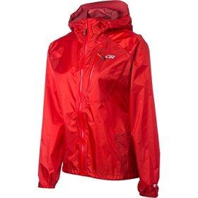 Outdoor Research Women's Helium II Jacket, Flame, Medium