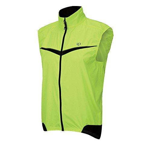 Pearl Izumi Men's Elite Barrier Vest (Screaming Yellow/Black, Medium)