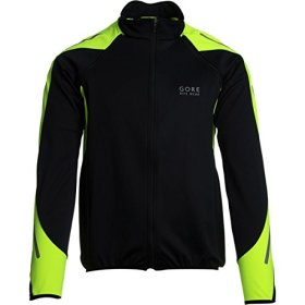 Gore Bike Wear Phantom 2.0 SO Jacket Black/Neon Yellow, L – Men's