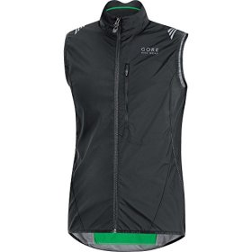 GORE BIKE WEAR Men's ELEMENT WINDSTOPPER Active Shell Vest, size M, black