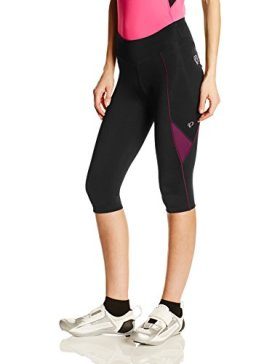 Pearl Izumi – Ride Women's Sugar Cycling 3/4 Tights, Black/Dark Purple, Medium