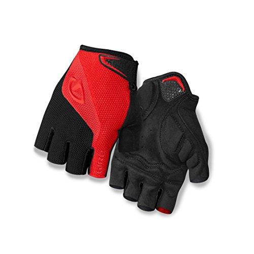 Giro Bravo Gloves, Red/Black, Large/15″