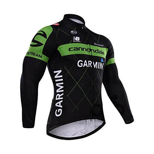Outcycling Outdoor Sports Men's Winter Thermal Long Sleeves Cycling Jacket Windproof Jersey