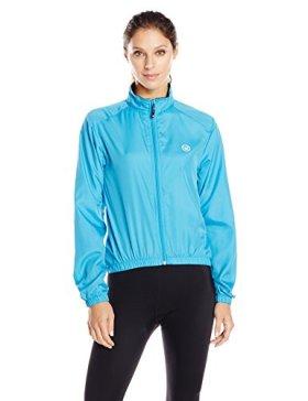 Canari Cyclewear Women's Microlyte Shell Jacket, Fiji Blue, Large