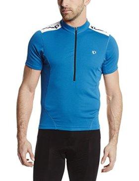 Pearl Izumi Men's Select Short Sleeve Quest Jersey, Mykonos Blue, Medium