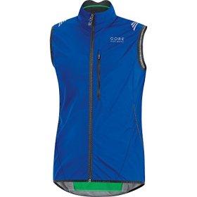 GORE BIKE WEAR Men's ELEMENT WINDSTOPPER Active Shell Vest, size XL, brilliant blue