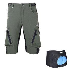 SIMPLORE 2016 mens cycling shorts padded