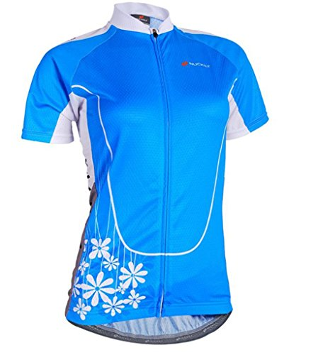 Nuckily Women's Short Sleeve Cycling Jersey Sportswear Biking Cycling Clothing Quck Dry