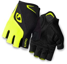 Giro Bravo Glove – Men's Gel Black/Highlight Yellow Large