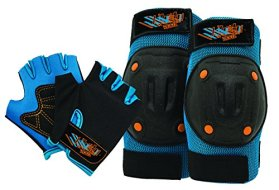 Bell Riderz Speed Freak Street Shred Pad and Gloves Set
