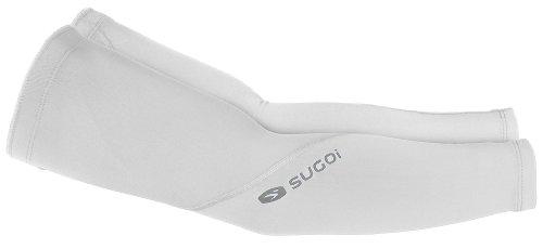 Sugoi Mid Zero Arm Warmer (White, Medium)