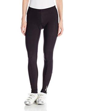 Canari Cyclewear Women's Tundra Pro Cycle Tights, Black, Medium