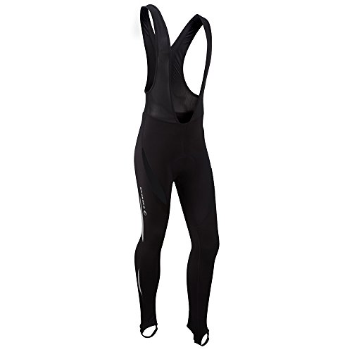 Tenn Mens Lazer Thermal Cycling Bib Leggings/Tights – Black – Lrg