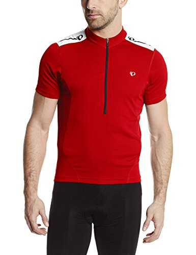 Pearl Izumi Men's Select Short Sleeve Quest Jersey, True Red, Large