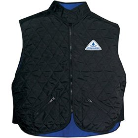 Hyperkewl Adult Street Racing Motorcycle Vest – Black / Small