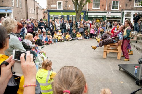 Performing in King Square