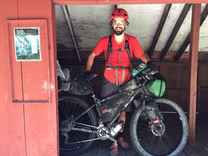 Virginia Mountain Bike Trail Paul Gerhard Shelter