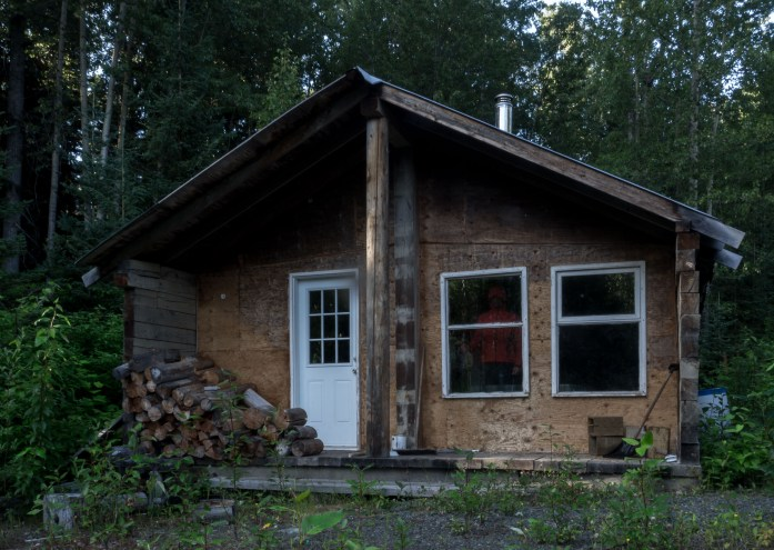 A hunting cabin we found one night.