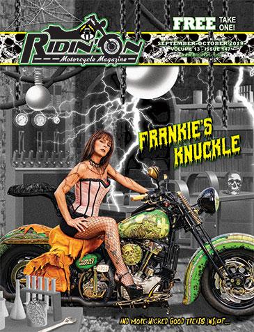 Ridin' On September 2019 Cover