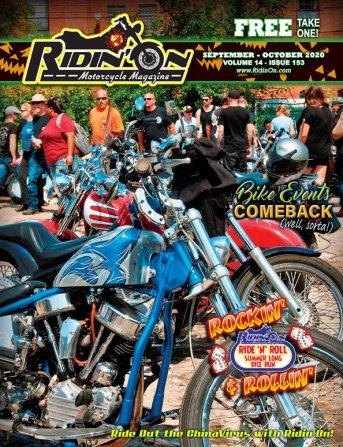 RidinOn September October Cover