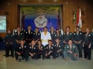 dewan pelatih dan guru besar PSTD Indonesia