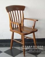 kursi country classic retro chair,kursi antik tangan,jual kursi jati,jepara furniture,finishing natural,jepara chair kursi koboy tanganan