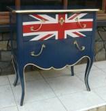 nakas model inggris,nakas britain,nakas union jack,furniture bendera inggris jepara