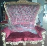 kursi princess syahrini di trans-tv,absolom royal grande chair,kursi royal roche jepara trans-tv,kursi syahrini maju mundur cantik