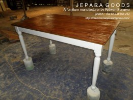 natural,rustic,dining table,jepara furniture duco,jepara goods,meja makan unik murah