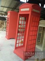 rak telephone inggris,union jack furniture,furniture creative jepara goods,furniture jakarta bandung surabaya,rak buku unik inggris,replica telephone booth rack