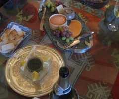 キャビアとシャンパンのパーティ