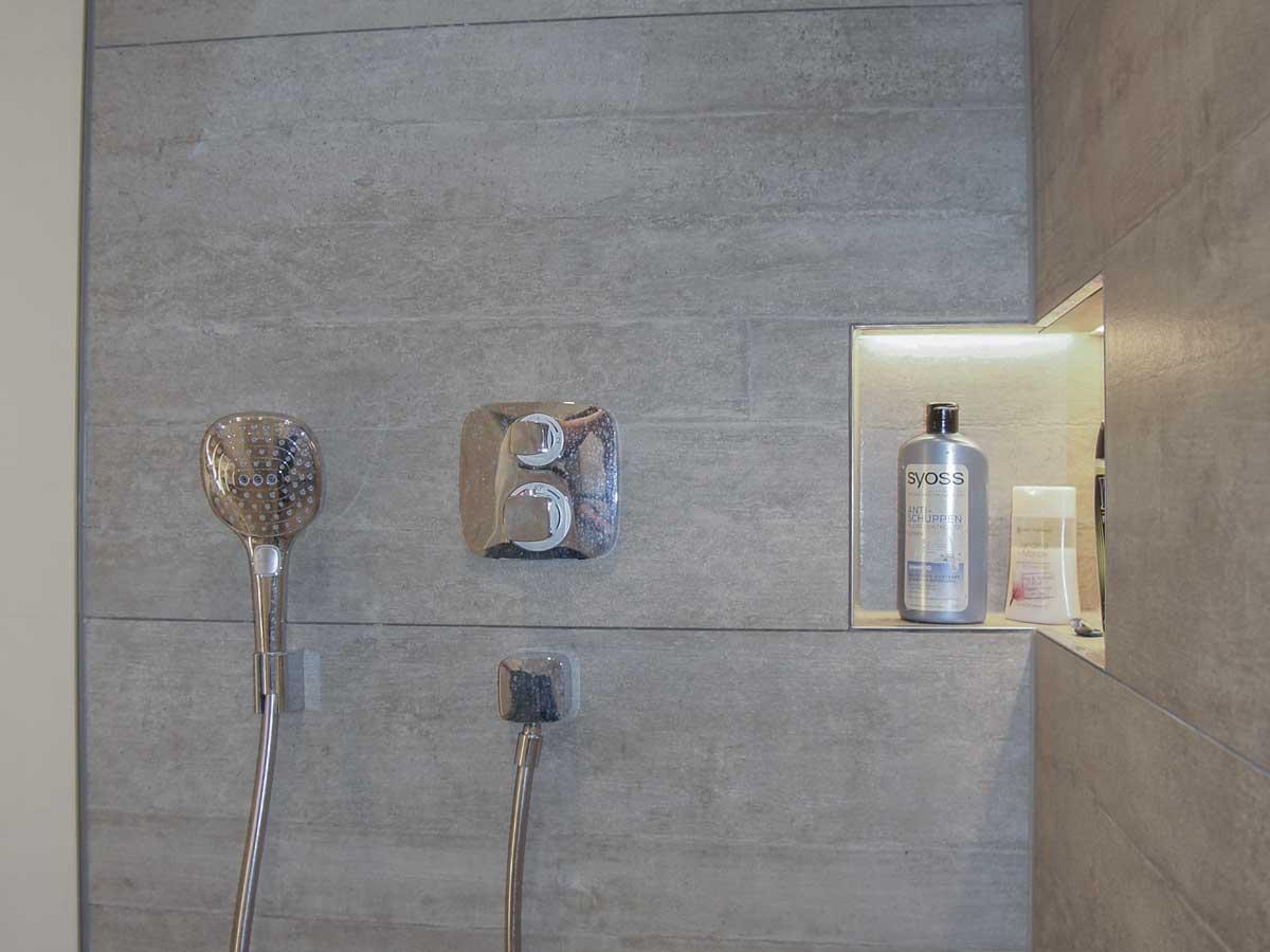 Nische Dusche 66